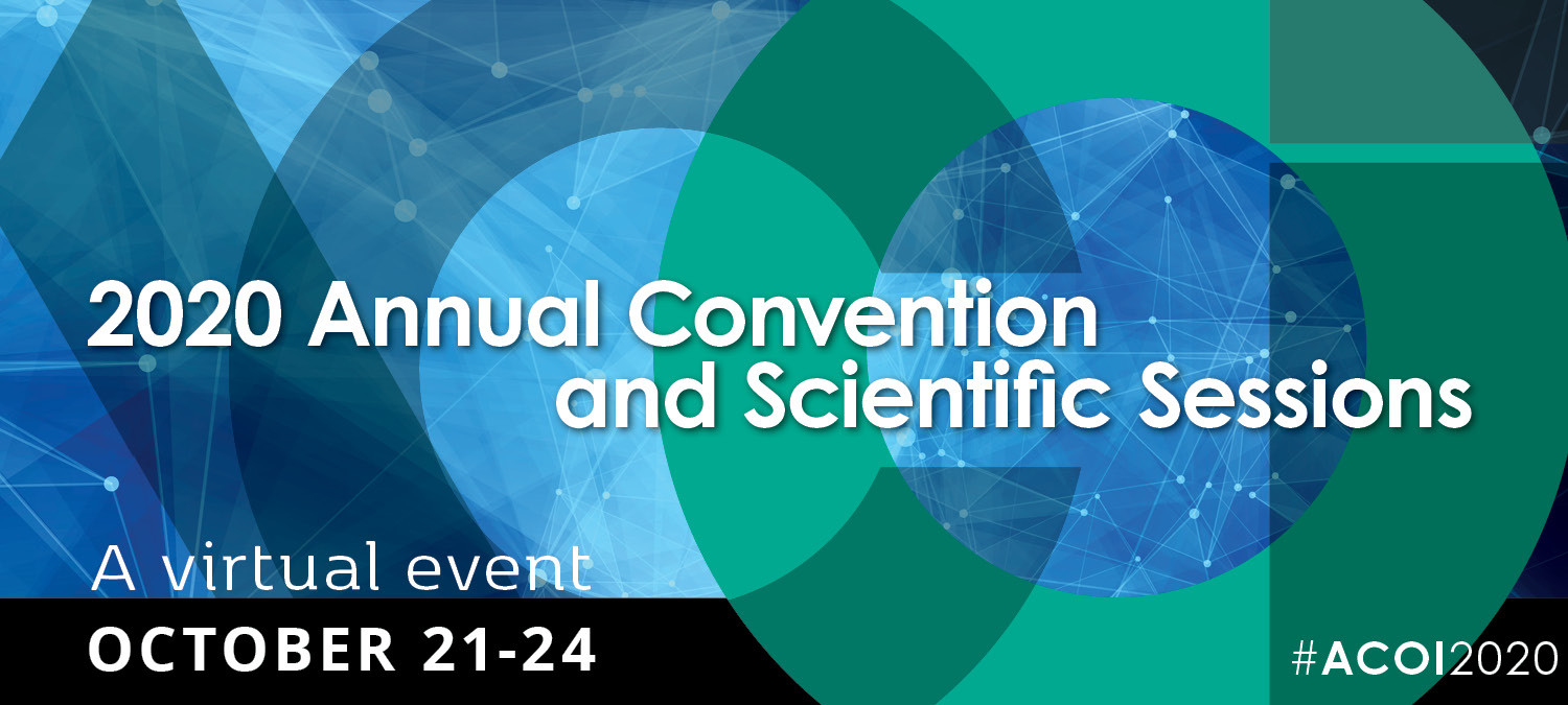 ACOI's 2020 Annual Convention and Scientific Sessions