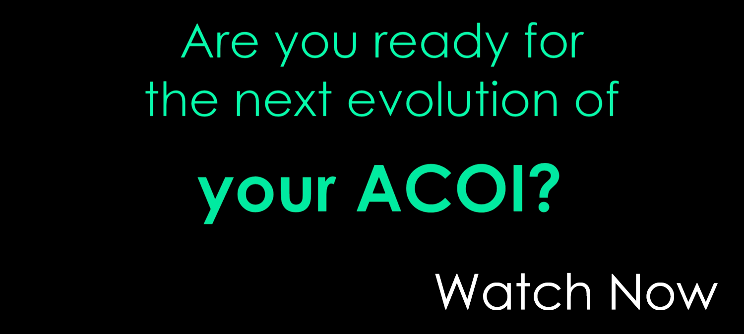 Are you ready for the next evaluation of your ACOI? Watch now